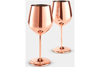Layered Lounge Wine and Champagne Glasses